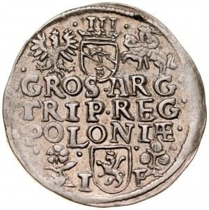 Zygmunt III 1587-1632, Trojak 1596, Wschowa.