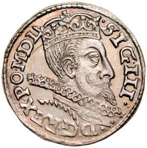 Zygmunt III 1587-1632, Trojak 1601, Wschowa.