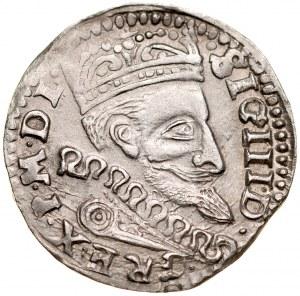 Zygmunt III 1587-1632, Trojak 1601, Lublin.