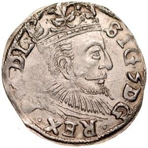 Zygmunt III 1587-1632, Trojak 1597, Lublin.