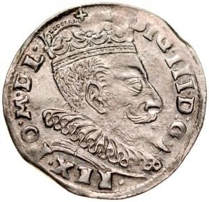 Zygmunt III 1587-1632, Trojak 1596, Wilno.