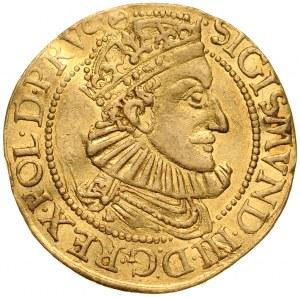 Zygmunt III 1587-1632, Dukat 1589, Gdańsk.