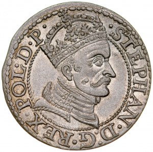 Stefan Batory 1576-1586, Grosz 1579, Gdańsk.