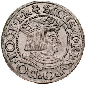 Zygmunt I Stary 1506-1548, Grosz 1535, Gdańsk.