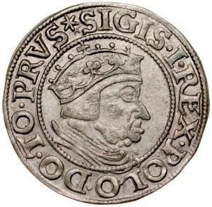 Zygmunt I Stary 1506-1548, Grosz 1537, Gdańsk.