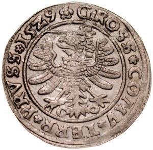 Zygmunt I Stary 1506-1548, Grosz 1529, Toruń.