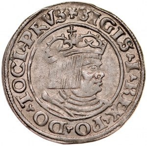 Zygmunt I Stary 1506-1548, Grosz 1530, Toruń.