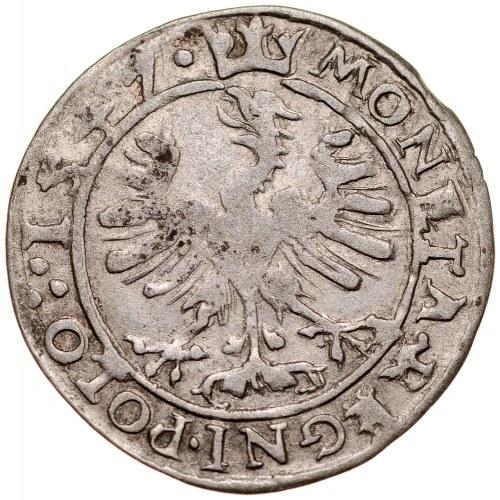 Zygmunt I Stary 1506-1548, Grosz 1547, Kraków.