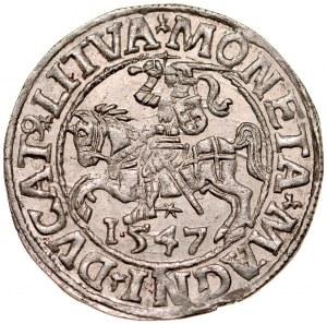 Zygmunt II August 1545-1572, Półgrosz 1547, Wilno.