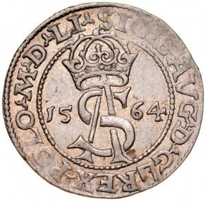 Zygmunt II August 1545-1572, Trojak 1564, Wilno.
