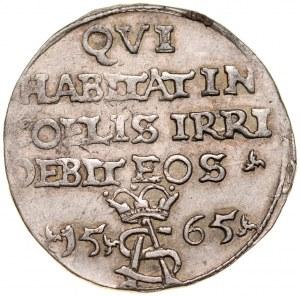 Zygmunt II August 1545-1572, Trojak szyderczy 1565, Wilno.