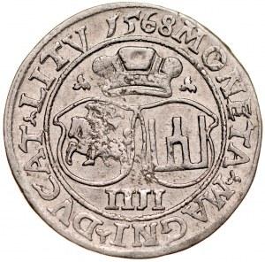 Zygmunt II August 1545-1572, Czworak 1568, Wilno.