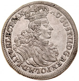 August II Mocny 1697-1733, Szóstak 1702 EPH, Lipsk.