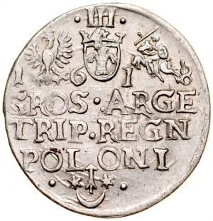 Zygmunt III 1587-1632, Trojak 1618, Kraków.