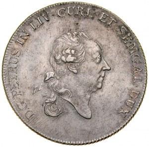 Kurlandia, Piotr Biron 1769-1795, Talar 1780, Mitawa.