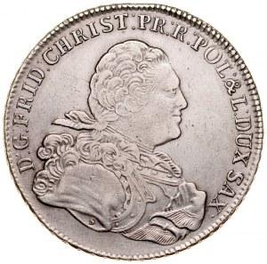 Fryderyk Chrystian 1763, Talar 1763, Drezno.