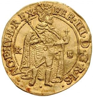 Węgry, Ferdynand III 1637-1657, Dukat 1642, Kremnica.