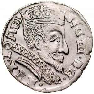 Zygmunt III 1587-1632, Trojak 1599, Wilno, R.