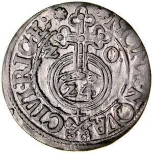Zygmunt III 1587-1632, Półtorak 1620, Ryga.