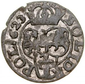 Zygmunt III 1587-1632, Szeląg 1623, Bydgoszcz.