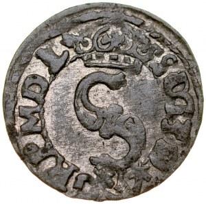 Zygmunt III 1587-1632, Szeląg 1624, Bydgoszcz. R.