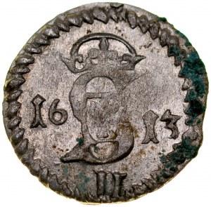 Zygmunt III 1587-1632, Dwudenar 1613, Wilno.