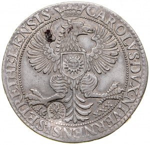 Śląsk, Kontrmarka ze śląskim orłem?, 30 sols 1614, Karol I Gonzaga