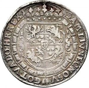 Zygmunt III Waza, talar 1630, Bydgoszcz, napis ...SV-, Dorstych R6!