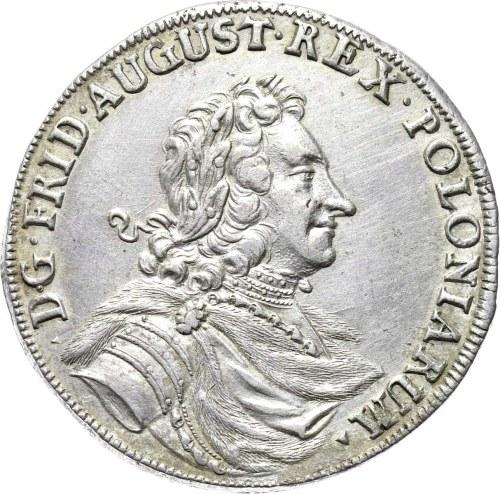 August II Mocny, 2/3 talara (gulden) 1704, Drezno, rzadki