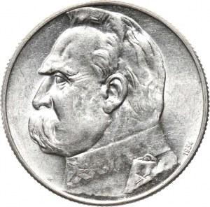 Polska, II RP, 5 złotych 1934 orzeł strzelecki, piękny