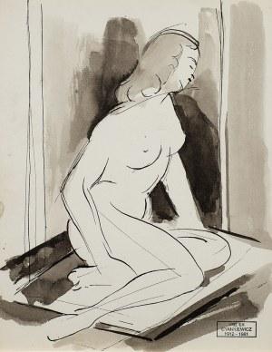 Zdzisław Cyankiewicz (1912 Białystok - 1981 Paryż), Akt kobiecy
