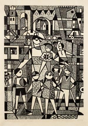 Bożena Majewska (ur. 1924 r.), Przedszkolanka, 1967 r.