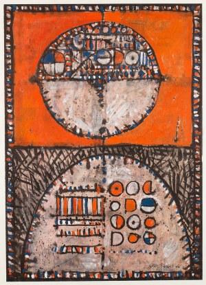 Jan Karczewski (ur. 1931 r.), Kompozycja abstrakcyjna, 1966 r.