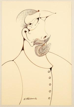 Henryk Płóciennik (ur. 1933 Łódź), Portret