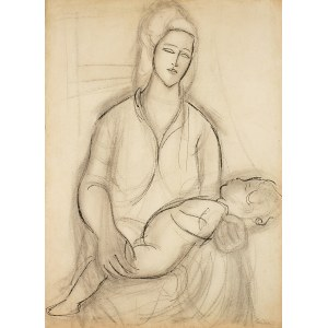 Zygmunt Landau (1898 Łódż - 1962 Tel Aviv), Mother and child