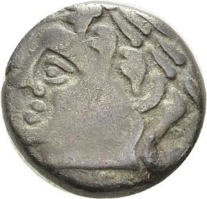 Allobroges. Statère en or pâle du type d'Annonay, Ier siècle av. J.-C. Av...