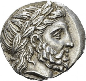 Macedonian Kingdom. Philip II, 359-336. Tetradrachm 323-316, Amphipolis. Obv...
