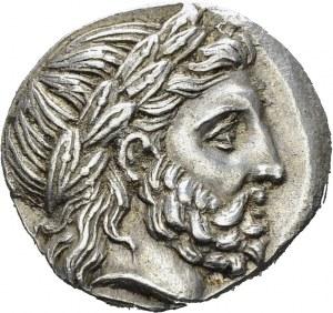 Macedonian Kingdom. Philip II, 359-336. Tetradrachm 323-316, Amphipolis. Obv...