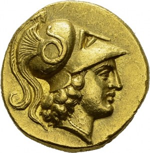 Alexander III, 336-323. Gold Stater 333-327, Tarsus. Obv...