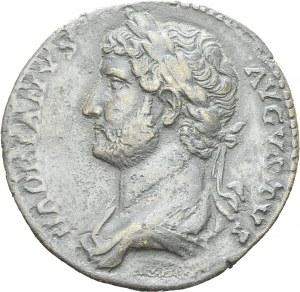 Hadrian, 117-138. Sestertius 132-135, Rome. RIC 706. AE. 26.99 g. VF-XF  Ex...