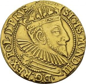 Sigismund III, 1587-1632. Ducat 1593, Gdansk. Obv. SIGISMVND III ...