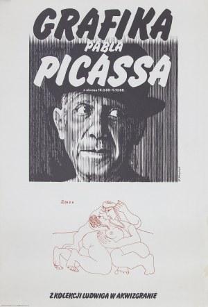Stanisław KLUCZYKOWSKI (ur. 1937), Grafika Pabla Picassa z okresu 16.3.68-5.10.68. z kolekcji Ludwiga w Akwizgranie