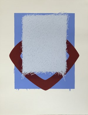 BERNDT BRENNER MIX MEDIA GRAFIKA 65,5 X 60 CM 1967