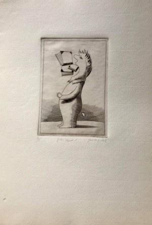 EGBERT HERFURTH LITOGRAFIA 1982 24 x 33 cm