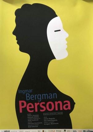 Plakat do filmu Persona Ingmara Bergmanna, 70x100 Mirosław Adamczyk 2010
