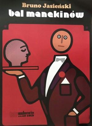 Plakat Teatru Wybrzeże do sztuki Bal Manekinów, 70x100 Hubner