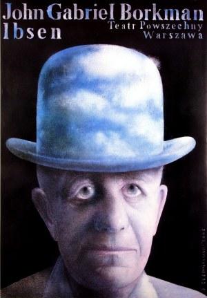 Plakat do spektaklu Ibsen Jerzy Czerniawski 70x100 2006