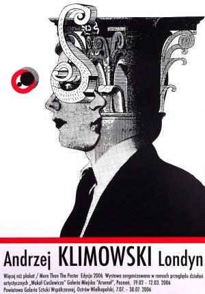 Plakat z objazdowej wystawy Andrzeja Klimowskiego 2006, 70x100cm