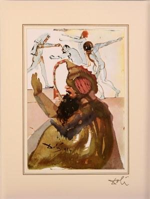 Salvador Dali, Genesis 37; 28, 34 - 36 z teki