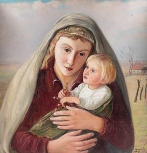 Wlastimil Hofman (1881 Praga - 1970 Szklarska Poręba), Madonna, lata 20-te XX w.
